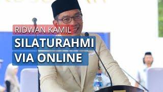 Idulfitri di Tengah Pandemi, Ridwan Kamil Salat Id di Rumah, Bakal Silaturahmi Via Online