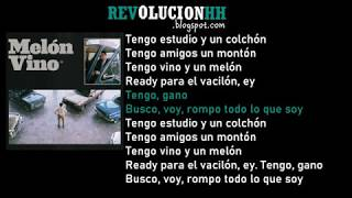 Wos   Melon Vino | Letra (Lyric Video)