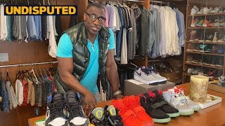 Shannon Sharpe's Exclusive Sneaker Collection: Red Octobers, Travis Scotts + more | UNDISPUTED