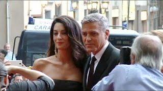 Свадьба в Венеции. Джордж Клуни женится на Амаль Аламуддин