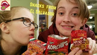 Snacks From An El Salvadoran Vending Machine