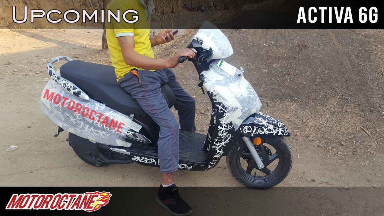 Motoroctane Youtube Video - Honda Activa 6G - BS6 Coming | Hindi | MotorOctane