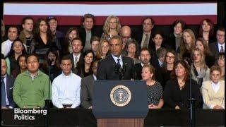 Obama to Hecklers: `I Heard You