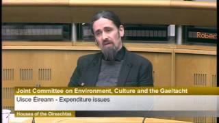 TD Luke 'Ming' Flanagan Questions Chief Executive of Irish Water, John Tierney
