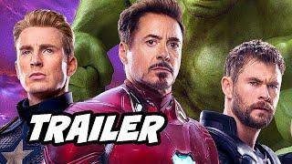 Avengers Endgame Trailer 2 Easter Eggs Breakdown - Avengers vs Thanos