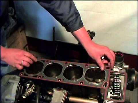 Двигатель ЗМЗ-406.10 и его модификации (Сборка двигателя)
