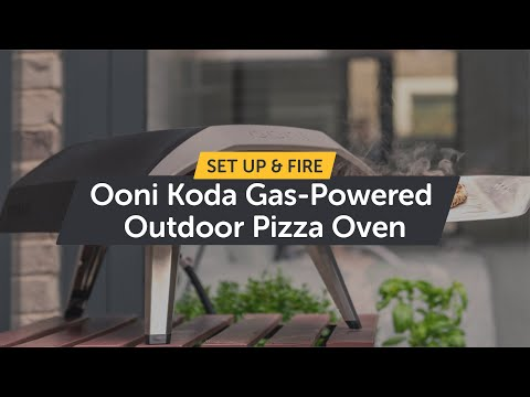 How to set up & fire up Ooni Koda