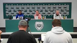 PK nach dem Spiel in Münster