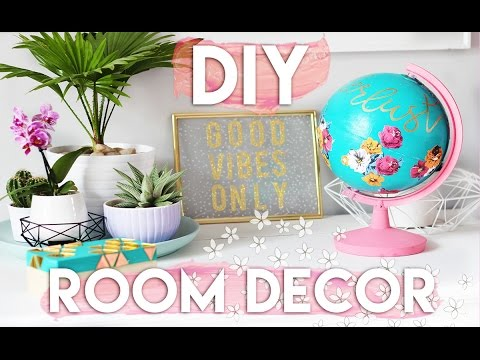 DIY Summer Room Decor Ideas | Decorate Your Room on a Budget 2016