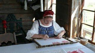 История вышивки. Основные виды и особенности русской вышивки.