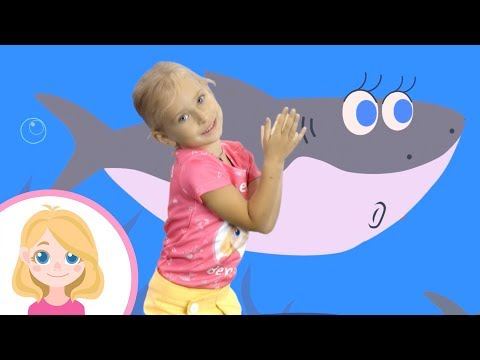 АКУЛЕНОК МАЛЫШ или BABY SHARK - Маленькая Вера - Веселый танец для детей малышей