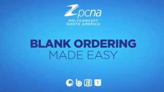PCNA Blank Ordering Made Easy
