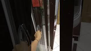 "Душевая кабина Volle Fiesta 90х90х200 на мелком поддоне, профиль хром, стекло прозрачное от компании Магазин ""Керама"" - видео"