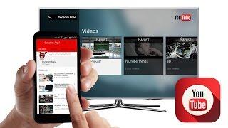 Cep Telefonunuzdan Youtube Smart TV Aplikasyonunu Kontrol Etmek