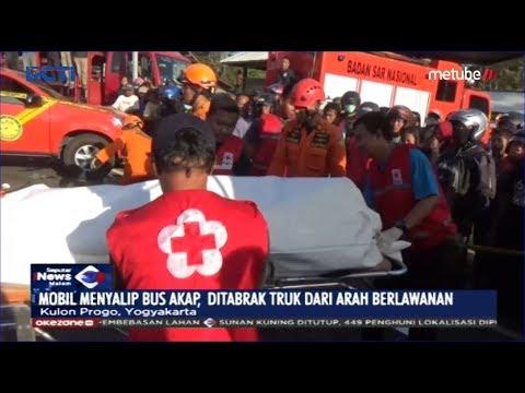 Kecelakaan Maut 3 Kendaraan di Kulon Progo, 3 Orang Tewas - SIM 21/06