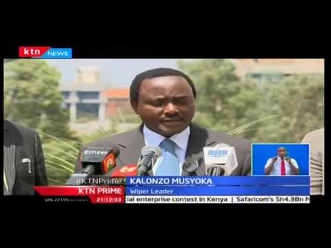 Raila Odinga briefs Kalonzo Musyoka on what is at stake ahead of formation of super alliance