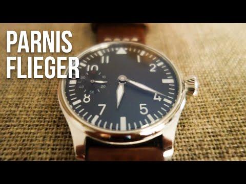 Test : Parnis Flieger, une montre chinoise loin d'être mauvaise