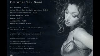 CHANTE'  MOORE      I'm What You Need      R&B