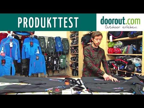 Produkttest Mammut Nordwand Serie Outdoorjacke und Hose - Hardshell & Softshell