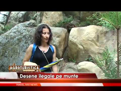 Desene ilegale pe munte – VIDEO
