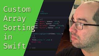 Custom Array Sorting in Swift - The Matthias iOS Development Show