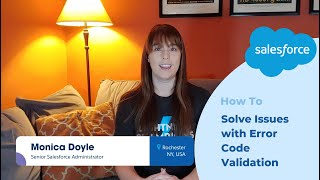 Salesforce Platform Quick Tip: How to Solve Issues with Error Code Validation