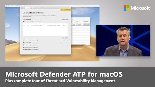 Microsoft Defender ATP: macOS preview + Threat and Vulnerability Management