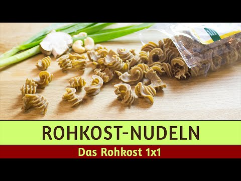 Rohkost-Nudeln aus Buchweizen - Wild Pasta im Test (feat. Rawberryvegan)