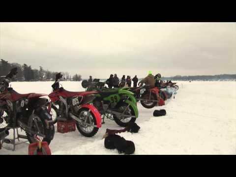 Ice Bikes on Hess Lake 2015