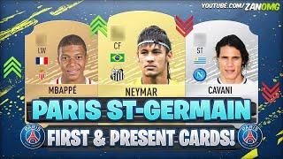 FIFA 20 | PSG FIRST AND PRESENT FUT CARDS! 😱 | FIFA 09 - FIFA 20
