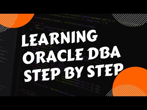 Learning Oracle dba step by step - new