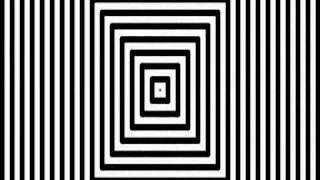 Video kaarten met optische Illusies, Optische Illusie de gang volg de de instructie
