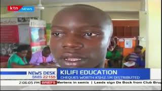 Students benefit from NGO funds in Kilifi County
