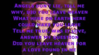 willy deville- angels don't lie (with lyrics)