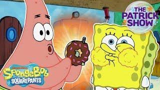 The Patrick Show: The Birthday Party 🍩 | #SpongeBobSaturdays