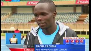 Kikosi cha Kenya cha mbio za 800M chajianda kwa riadha za dunia