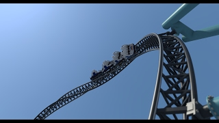 Fūjin POV - Launched Spinning Coaster - Nolimits Coaster 2 [No Spinning]