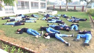 Earthquake !! First Ever Mock drill from Govt|