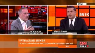 Cüneyt Özdemir'den Fatih Altaylı'ya istifa sorusu (5N1K)