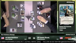 2015 Magic World Championship Opening and Semifinal: Samuel Black vs. Seth Manfield