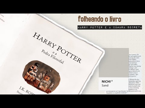 [FOLHEANDO] Harry Potter e a Pedra Filosofal | Editora Rocco | Edição Ilustrada | Capa Dura