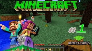 Обзор знаменитой игры Minecraft -  #1