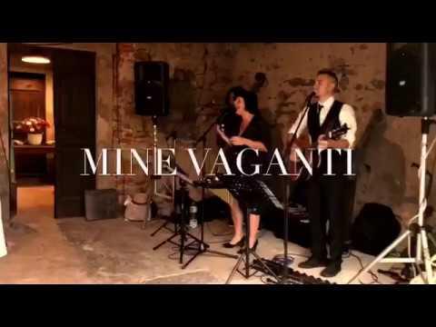 Mine Vaganti Trio acustico, canzoni di Mina Milano Musiqua