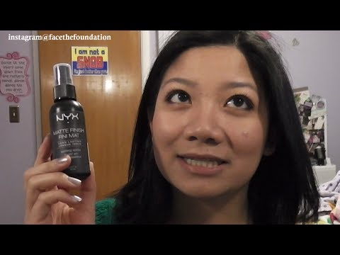 Matte Setting Spray by NYX Professional Makeup #7