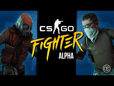 Counter Strike Fighter Alpha (What if CSGO was a fighting game?)
