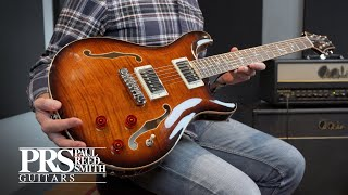 Paul Reed Smith SE Hollowbody II Piezo - PBB Video