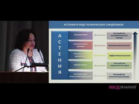 10 Астенические расстройства в клинической практике диагностика и терапия