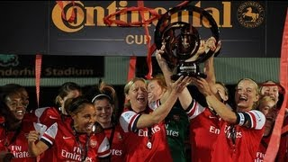 Arsenal v Bimingham 1-0 FAWSL Continental Cup Final Goals & Highlights