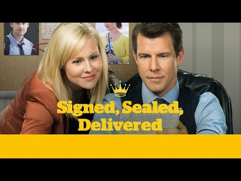 Signed, Sealed, Delivered Original Movie DVD movie- trailer