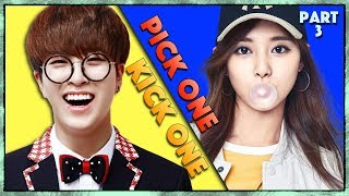 Pick One Kick One Part 3    Kpop Songs   Kpop Game